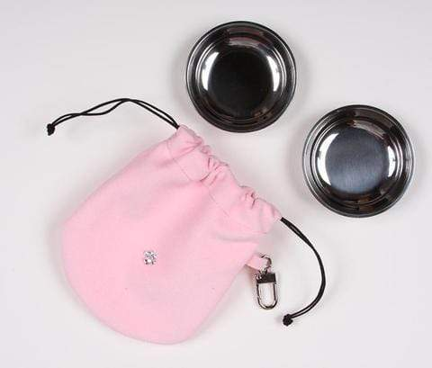 Susan Lanci Dog-products Puppy Pink Travel Pouch