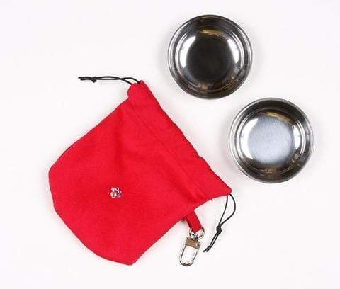 Susan Lanci Dog-products Red Travel Pouch