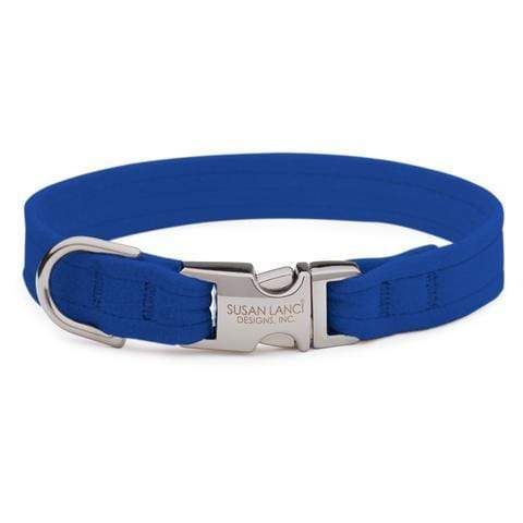 Susan Lanci Dog-products Royal Blue Perfect Fit Collar