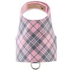 Susan Lanci Dog-products Scotty Bailey Harness Puppy Pink Plaid