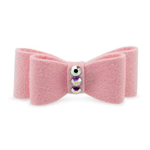 Susan Lanci Dog-products Single Plain Hair Bow
