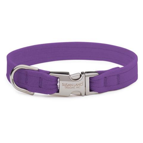 Susan Lanci Dog-products Ultraviolet Perfect Fit Collar
