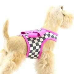Susan Lanci Dog-products Windsor Check Bailey Harness $47.00