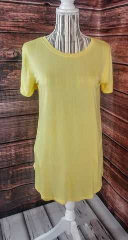Tunic with Round Hem (Sunshine)