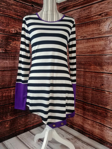Asymmetrical Stripes (Purple)