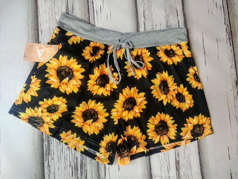 Sunflower Lounge Shorts w/ Pockets