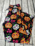 Sugar Skull Pumpkin Lounge Pants