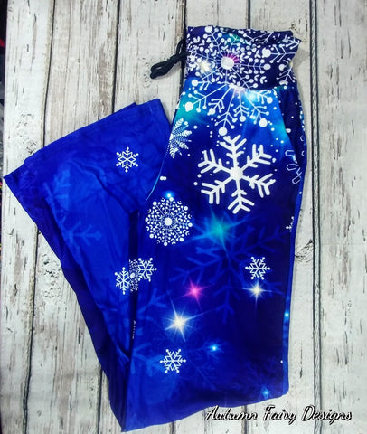 Blue Snowflake Lounge Pants