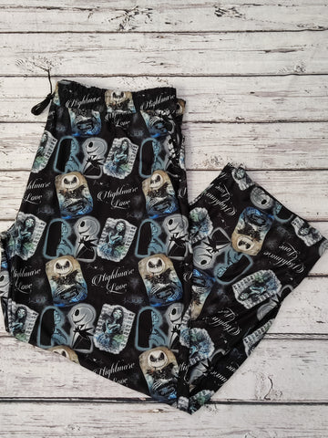 Nightmare Love Mug Shots Lounge Pants