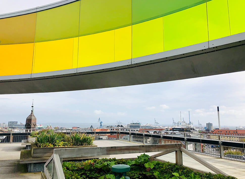 Your rainbow panorama in Aarhus - Museumsbesuch mit Kind