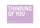 Design Foto-Grusskarte Thinking of you — Kleine Prints