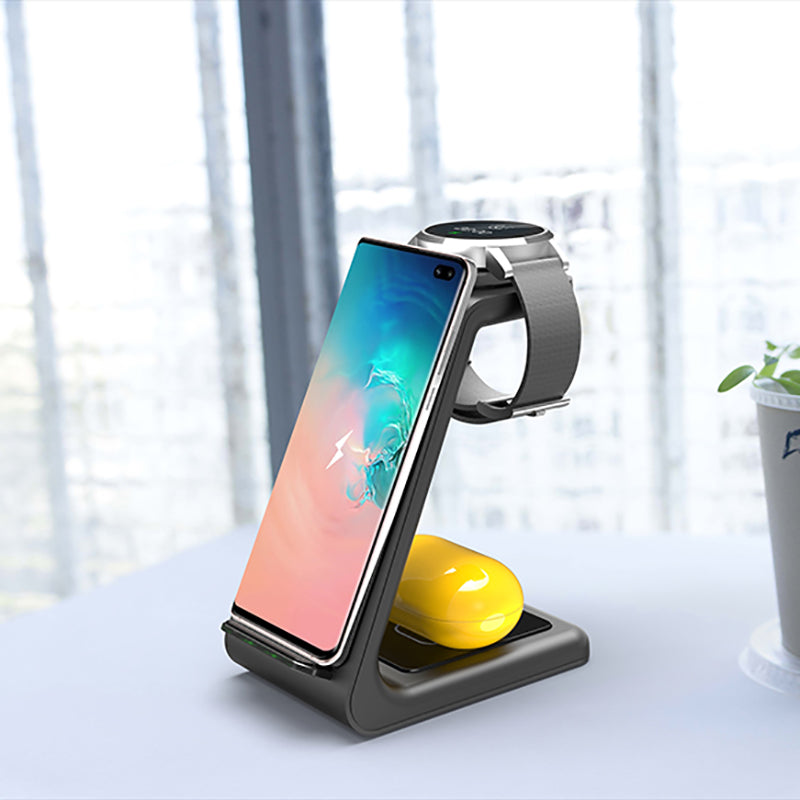 ⭐️ Award Winning 3 in 1 Wireless Charger Station