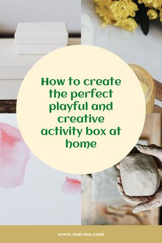 How to create a home activity box pin