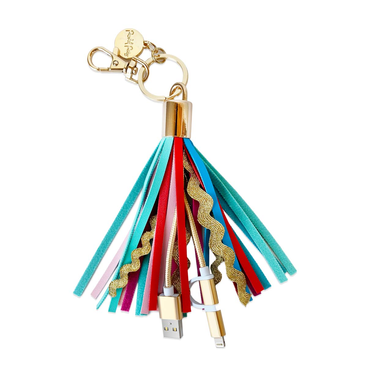 Sweet Treat Tassel Charging Keychain
