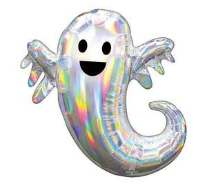 "14"" Iridescent Ghost Balloon"