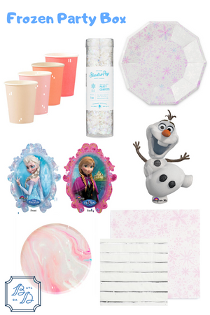 Frozen Party Box - Party of 12