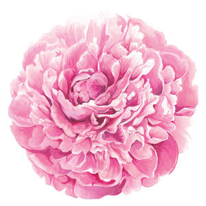Die Cut Peony Placemat
