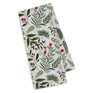 Holiday Sprigs Printed Napkin