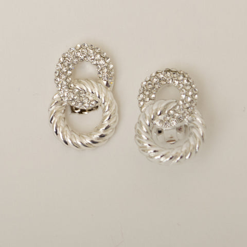 ring ding clip on earring