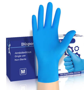 Nitrile Gloves (box of 50 pairs)