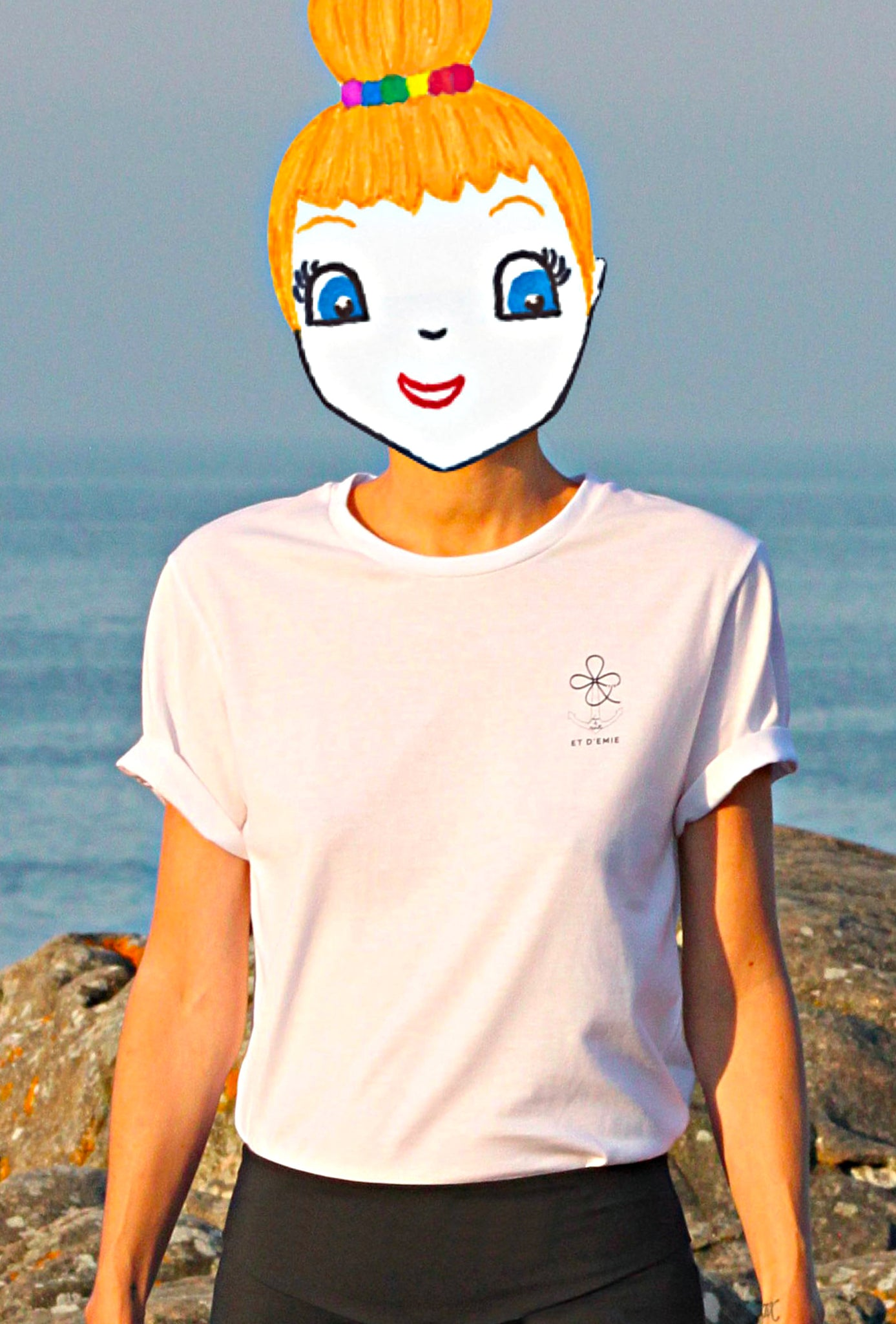 Unisex organic cotton t-shirt CHAP I Brittany 🇫🇷