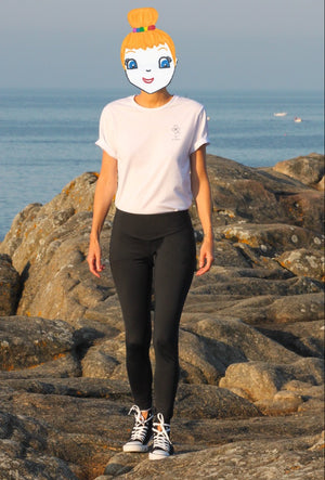 Women's leggings OCEAN CONNECTED - Seaqual Initiative 🇫🇷