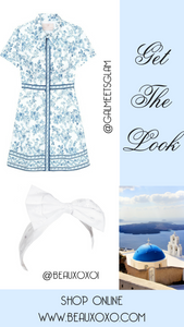Summer Holiday Outfit Ideas for Greece, Italy and France