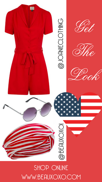 Get The Look: 4th July Independence Day Outfit Ideas