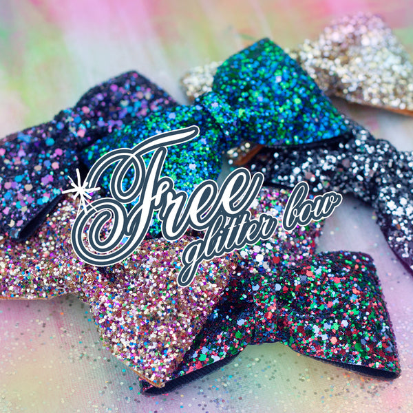 Beauxoxo Xmas Day 12: Free Glitter Bow