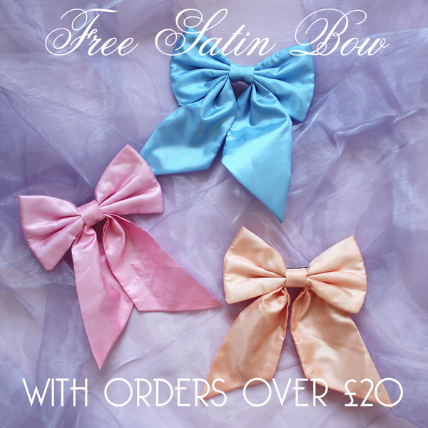 Beauxoxo Xmas Day 8: Free Satin Bow with orders over £20