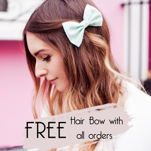 Beauxoxo Xmas Day 16: Free Fabric Bow