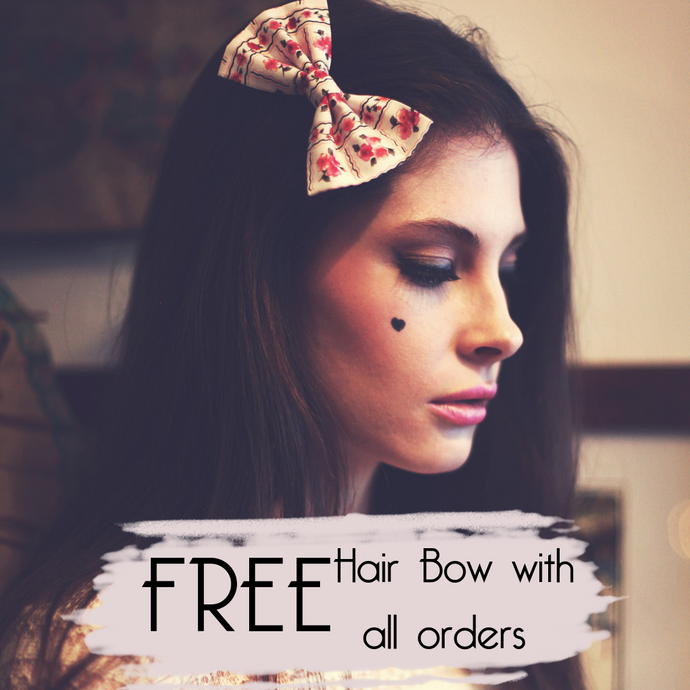 Beauxoxo Xmas Day 18: Free Fabric Bow