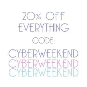 Cyber Weekend 20% Discount at Beauxoxo