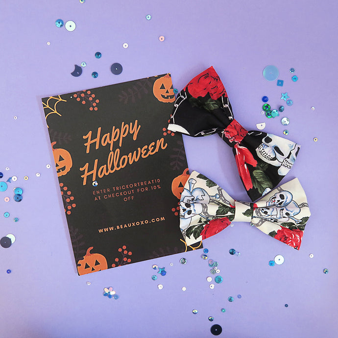 Free Halloween Hair Bow Offer- Whilst Stocks Last!