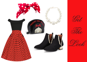 Cute, Retro Valentine's Day Outfit