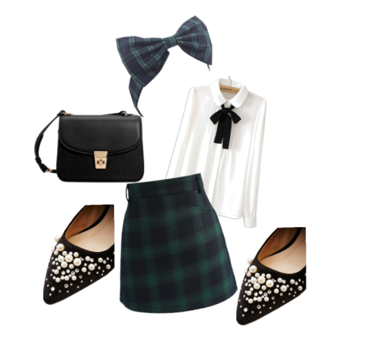 How to style a Tartan Bow