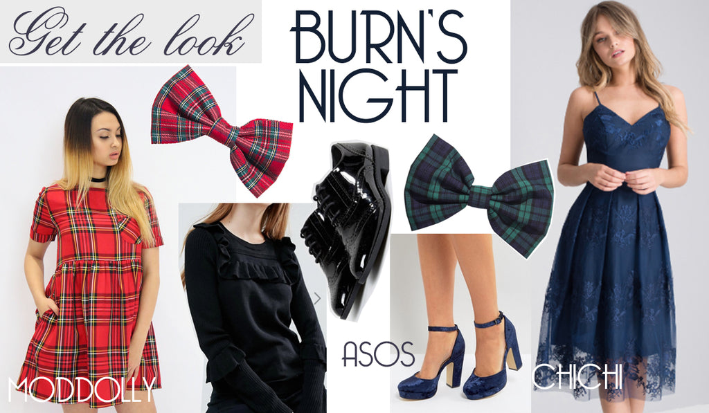 Burns Night Tartan Fashion