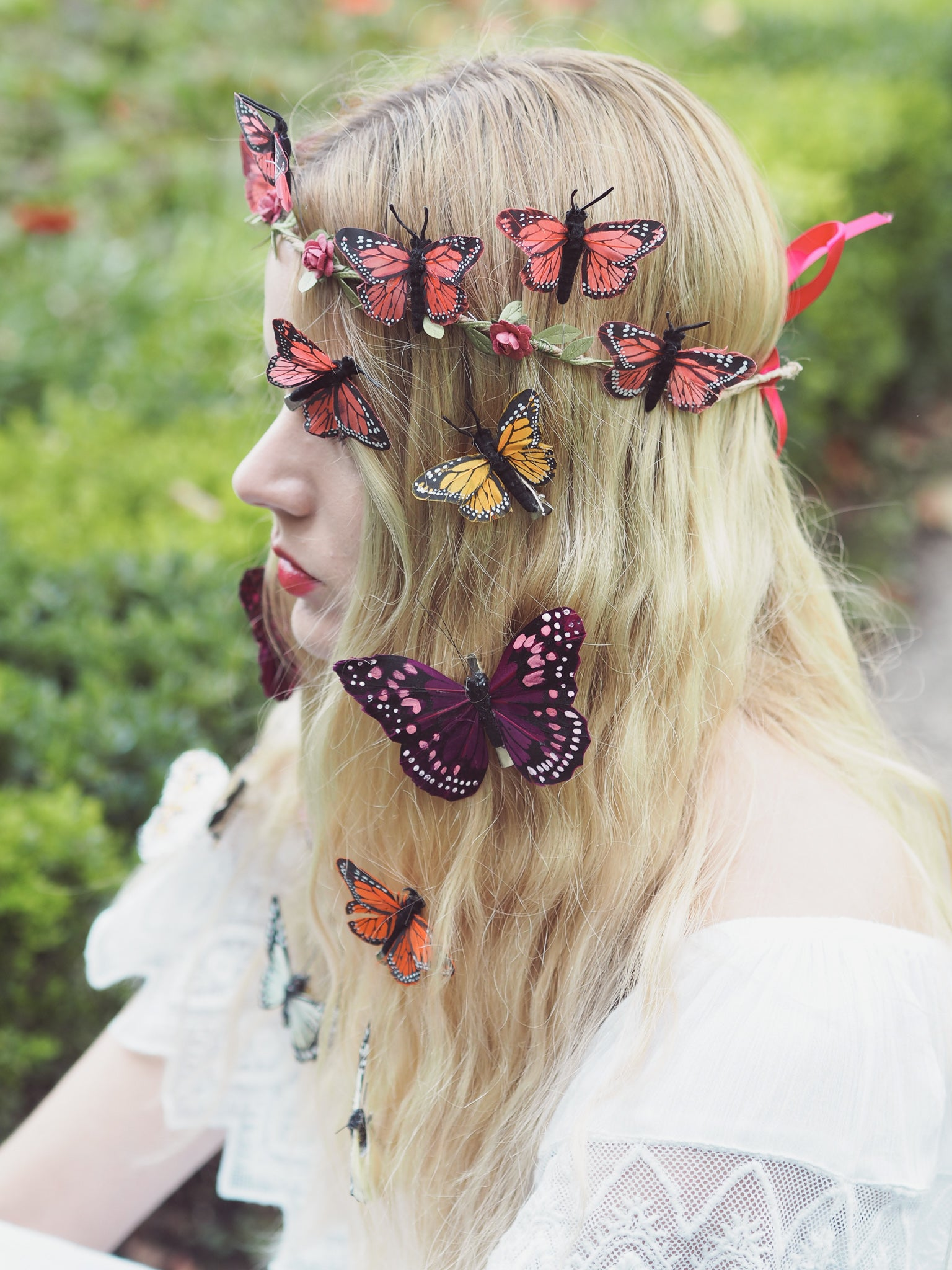 butterfly clips beauxoxo
