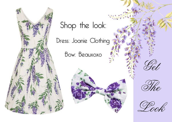 wisteria dress joanie clothing