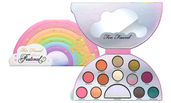 too faced unicorn eyeshadow palette