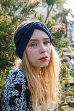 Navy Turban Headband