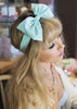 Oversized Pastel Polka Dot Bow Headband Rockabilly Pin Up Girl- AVAILABLE IN 5 COLOURS