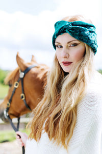Velvet Turban Headband- IN 18 COLOURS