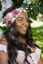 Butterfly Bouquet Floral Turban Headband, Floral Turban Headwrap- IN 2 COLOURS