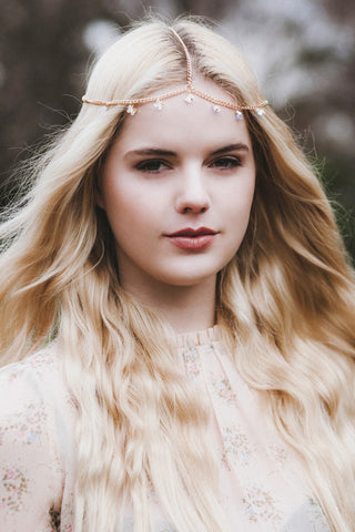 Butterfly Headchain, Butterfly Headpiece, Boho Chain Headpiece