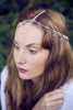Chain Headpiece, Silver Star Chain Headdress, Hair Jewelry, Goddess Headpiece, Hair Accessory