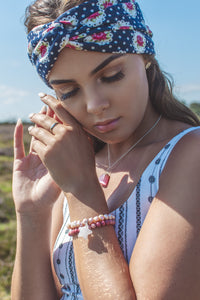 Floral Polka Dot Turban Headband - IN 2 COLOURS