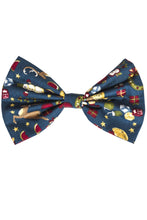Christmas Hair Bow, Christmas Scene Bow- IN 2 SIZES