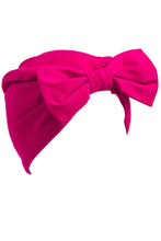 Pink Turban Bow Hat