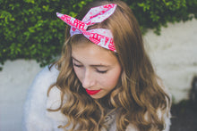 Santa's Grotto Christmas Wire Headband, Christmas Dolly Bow